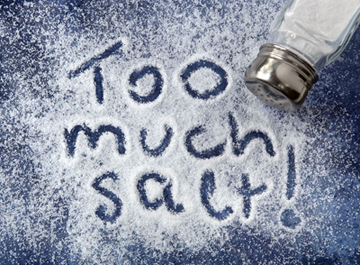 Salt: The dangers of too much