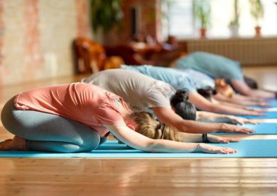 Energise with gentle yoga