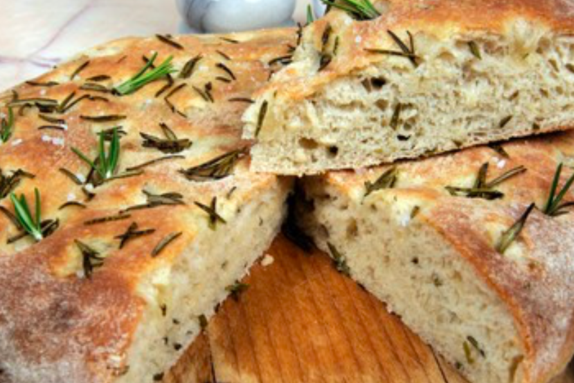 Home Made Bread with Rosemary